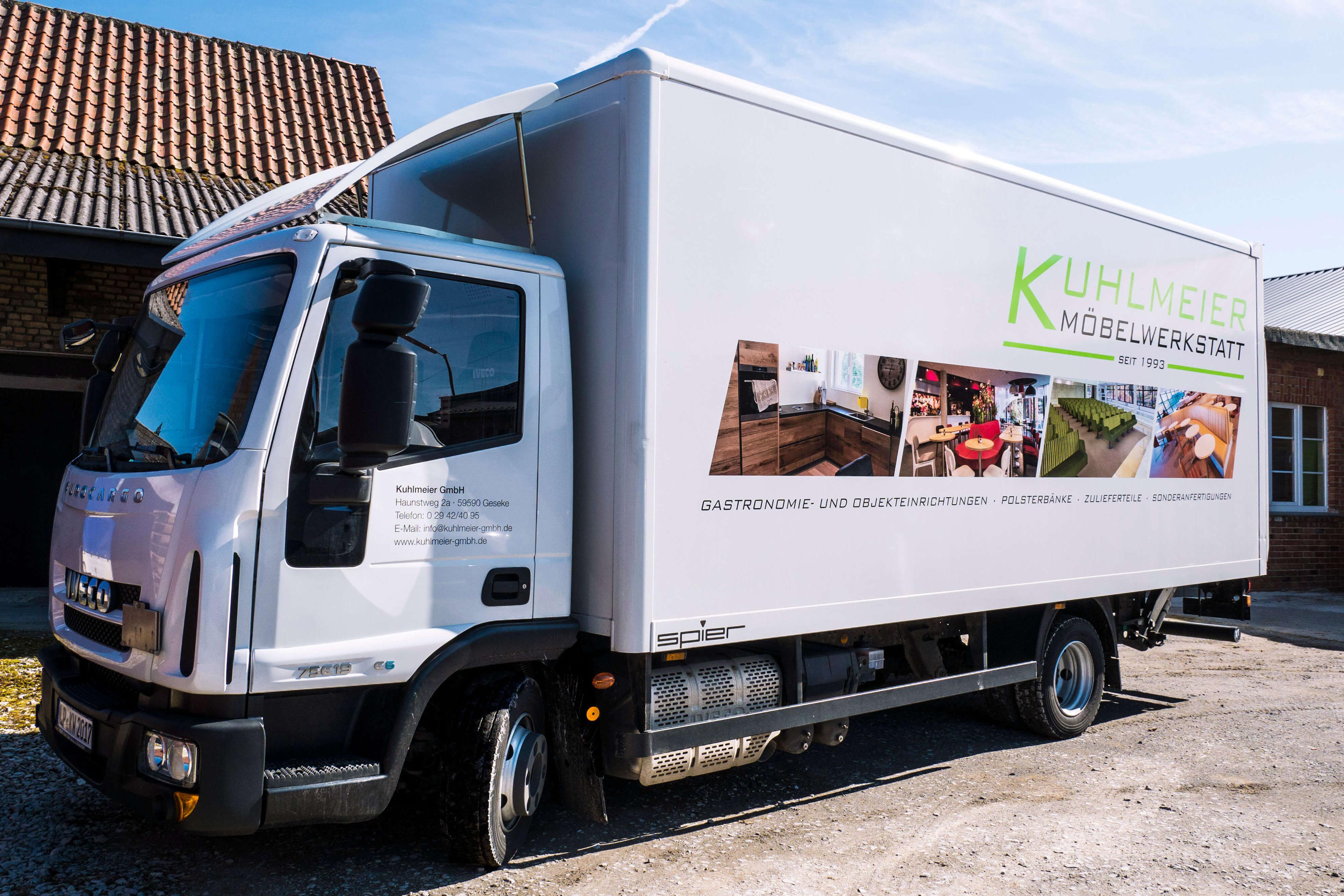 LKW der Kuhlmeier GmbH